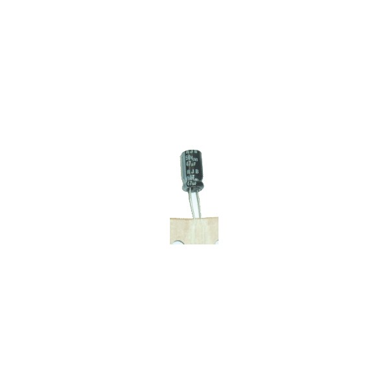 Electrolyte Capacitor 47uf 50v 105 ํc