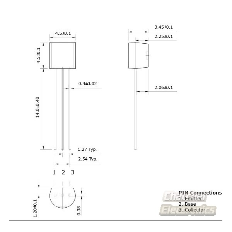 Sts8050 8050 Npn Transistors