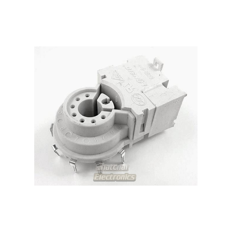 Gzs8 6 4 Crt Socket 8 Pin