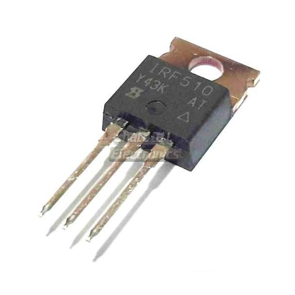 Irf510 N Channel Power Mosfet 100v 5 6a