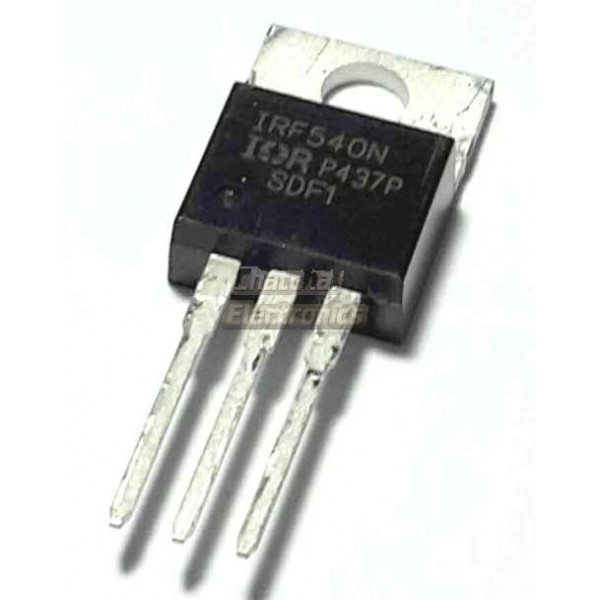 Irf540n Power Mosfet 100v 28a