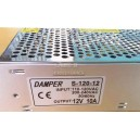 S-120-12 DAMPER Switching power supply unit 12V 10A