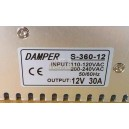 S-360-12 DAMPER Siwtching power supply 12V 30A